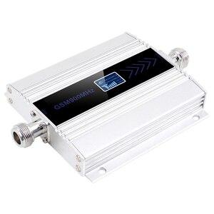 Image 1 - Ledディスプレイのgsm 900リピータ2グラム3グラム4グラムcelular携帯電話の信号リピータブースター、900 mhzのgsmアンプ + 八木アンテナ