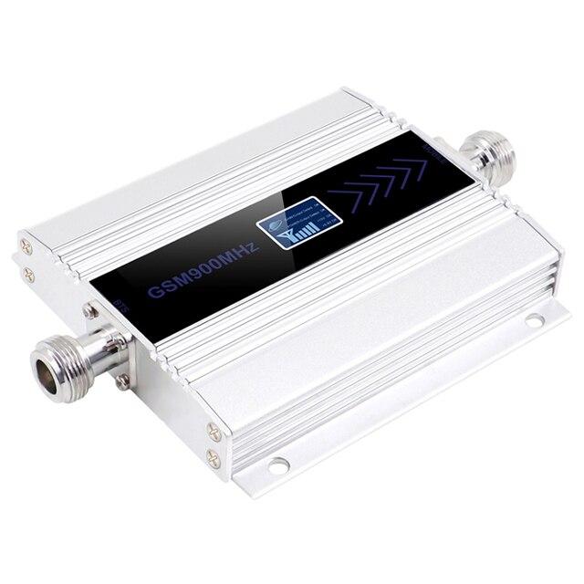Ledディスプレイのgsm 900リピータ2グラム3グラム4グラムcelular携帯電話の信号リピータブースター、900 mhzのgsmアンプ + 八木アンテナ