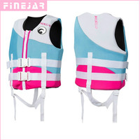 Hisea Children Life Vest Jacket Kids Life Vest Neoprene Floating Life Swimming Learners Youth Life Jacket Water Waist Coat h2