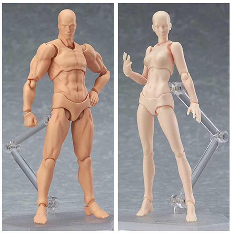 Anime Figma Archetype next Body She/He PVC Youth Ver. Action Figure New in Boxed Set (Chinese Version) nuest w new album still life ver portrait ver 2albums set release date 2017 10 11