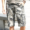 New Arrival Fashion Men Shorts Brand Casual Half Length Shorts Camouflage Pockets Knee Length Shorts Men's Clothing MK-7189B