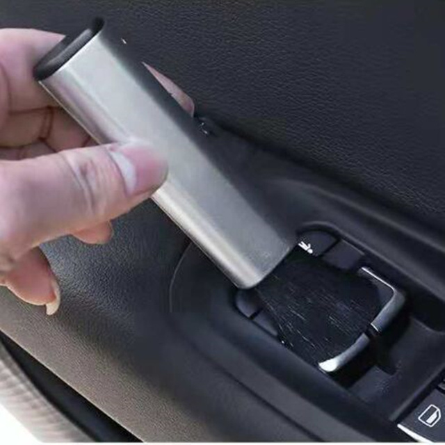 Auto Styling Auto Reinigung Pinsel Für VW Polo Passat B5 B6 CC GOLF 4 5 6 Bora Tiguan Peugeot 307 206 308 407 zubehör