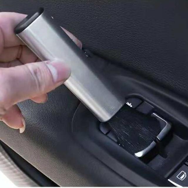 Estilo de coche cepillo de limpieza para el VW Polo Passat B5 B6 CC GOLF 4 5 6 Bora Tiguan Peugeot 307 206, 308, 407