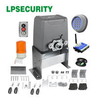 LPSECURITY Heavy Duty Chain Drive Electric Sliding Door gate Opener kit for 1000kg with optional parts
