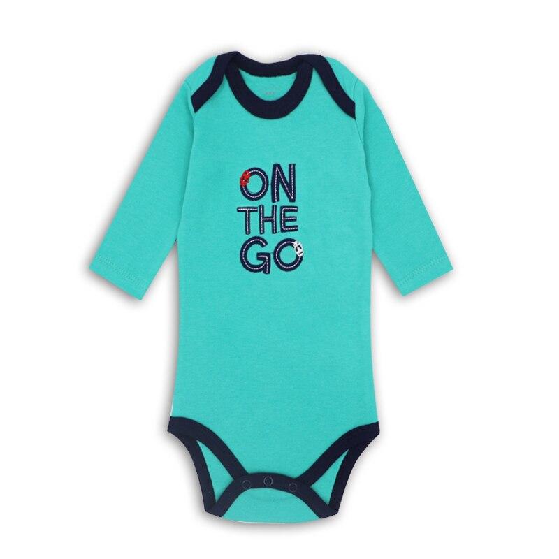 Pasgeboren baby jongens kleding 100% katoen met lange mouwen bodysuit - Babykleding - Foto 5