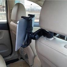 Поворотный на 360 градусов шаровой головкой регулируемый автомобильный подголовник держатель для iPad Galaxy Tablet