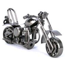 2 вида цветов, винтажная модель мотоцикла, ретро фигурка двигателя, железный мотоцикл, опора, сварочные изделия, подарок для мальчика, детская игрушка, украшение для дома и офиса