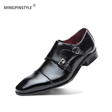 Fashion 2018 Men's Dress Shoes Soft Cow Leather Derby Shoes Gradient Point Oxfords For Business Party Wedding Shoes