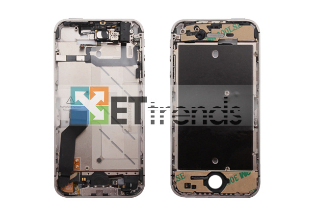 Metal Middle Plate Assembly (Black) for iPhone 4S  (2).jpg