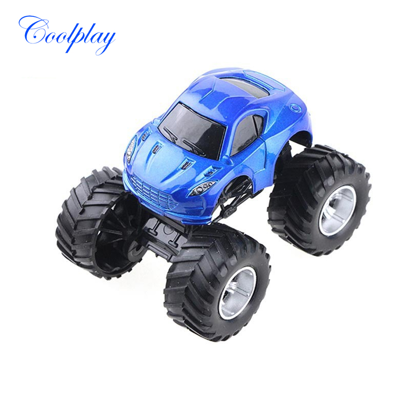 Coolplay Mini Cross Country Alloy Car Model Off-Road Vehicle Big Tire Model Car Educational Toys best gift for kids {