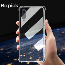 Bapick Silicone Soft TPU Phone Case for Samsung a50 a70 a30 a20 samsung Galaxy s8 s9 s10 plus note 9 8 Cover Protector