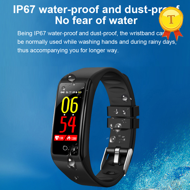 Smart Band Fitness Bracelet ip67 waterproof dust-proof fitness tracker message reminder Sports Step Tracker smartband Wristband
