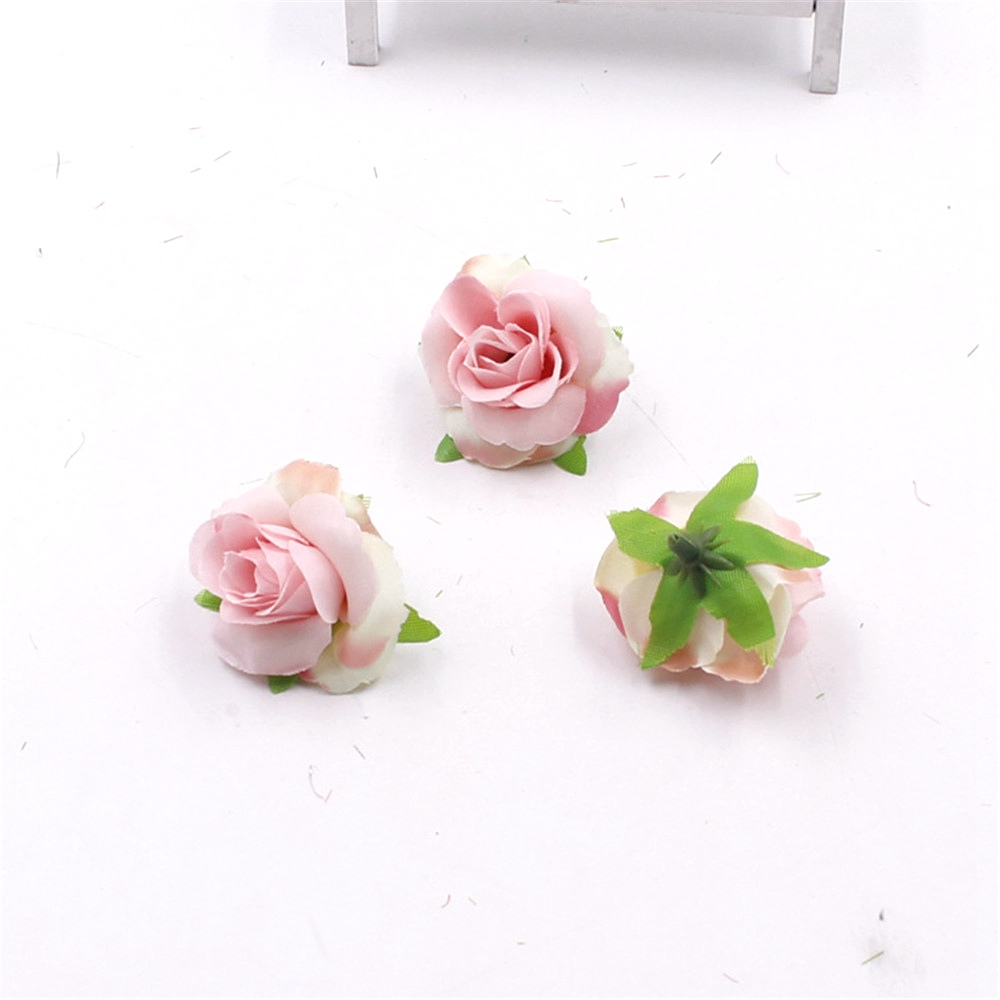 20pcs Fresh And Artificial Flowers Small Tea Bud Simulation Small