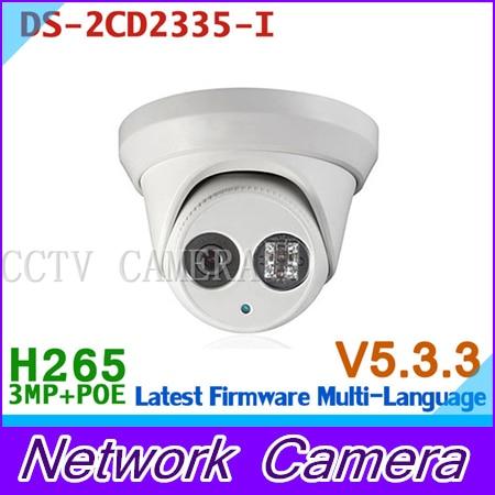 DS-2CD2335-I Multi-language version 3MP CCTV camera POE H.264+, mini dome ip camera 1080P language leader elementary class cd аудиокурс на 2 cd