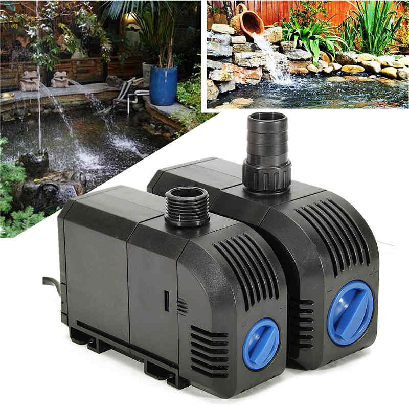 1x 20w 25w Electric Submersible Pump Aquarium Fish Tank