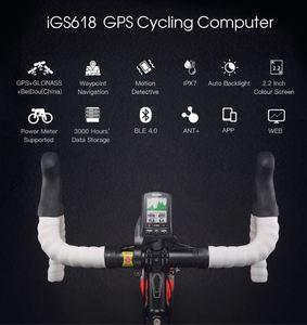 Image 3 - IGPSPORT ANT + GPS IGS618 rower Bluetooth bezprzewodowy stoper prędkościomierz wodoodporny IPX7 rowerowy prędkościomierz rowerowy komputer