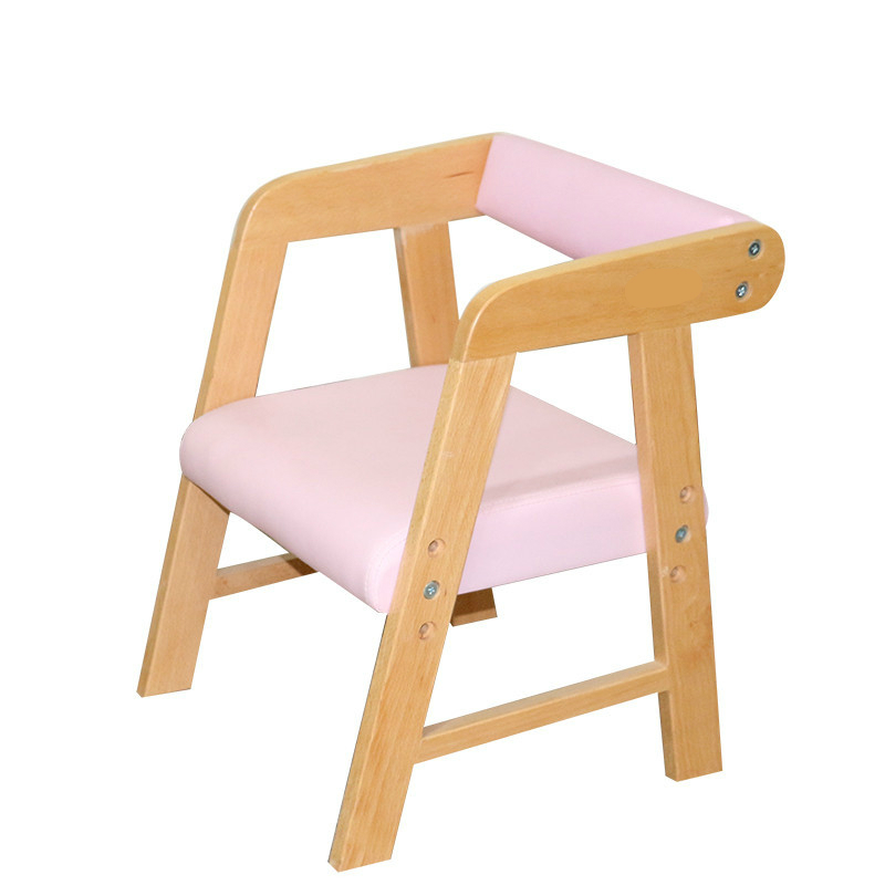 Solid Wood Kids Chair with Backrest Household Lifted Leisure Gaming Chair Dining Stool Kindergarten Adjustable Children ChairSolid Wood Kids Chair with Backrest Household Lifted Leisure Gaming Chair Dining Stool Kindergarten Adjustable Children Chair