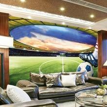 3D Stereo Non-woven Green Shade Football-Soccer Field