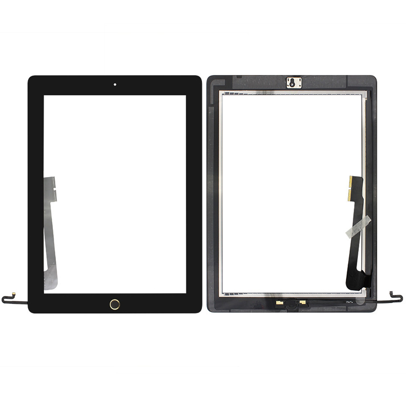 Touch Screen Glass Digitizer Assembly Replacement for iPad 4 A1458 A1459 A1460