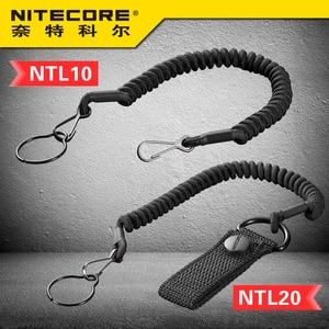 Image 1 - Nitecore NTL10 NTL20懐中電灯戦術的なストラップパンチステンレス鋼リング安全ロープ25.4ミリメートル直径ランプ