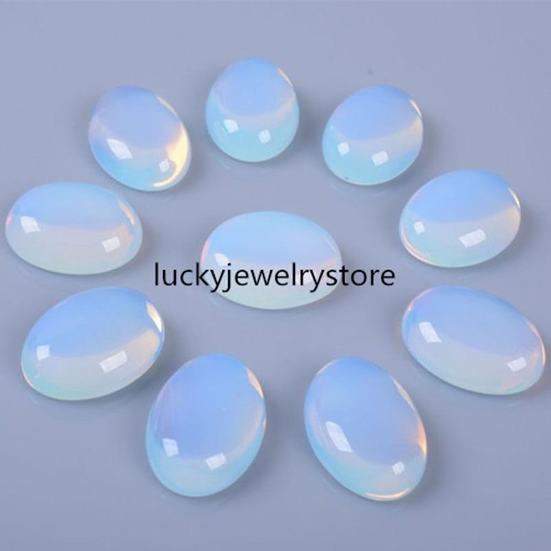 (20 pieces/lot) Opal Opalite Oval CAB CABOCHON 25x18x7mm D0076567