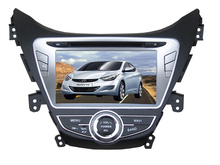 HD1024*600 4core quad core Android 4.4.4 car dvd for HYUNDAI ELANTRA 2012 Avante gps navigation bluetooth wifi player map camera