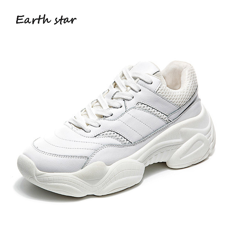 Chaussures Zapatos Mujer Beige Femelle forme Blanc Automne noir Plate Mode Véritable Casual De blanc En Femmes Chaussure Dame Cuir Marque gqwt1XX5W