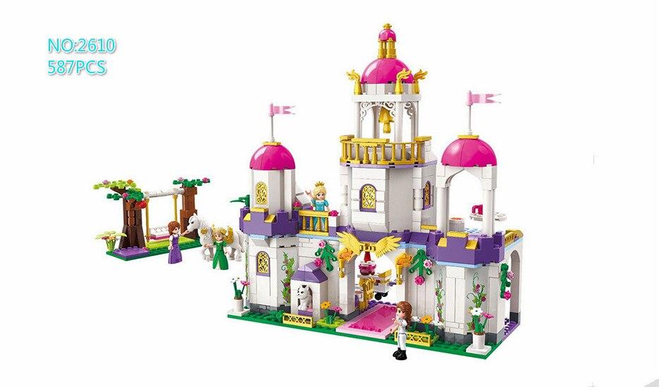 Building Blocks Compatible with Lego Enlighten E2610 587P Models Building Kits Blocks Toys Hobby Hobbies For Chlidren