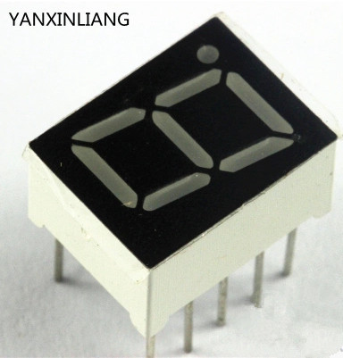 10PCS Anode + 1 Digit 0.56 inch Red LED Display Common