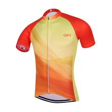 2017 QKI China National Short Sleeves Cycling Jersey Cycling Shirt  Maillot Cycling Clothing Wear Ropa Ciclismo