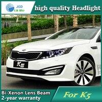 Car Styling Head Lamp case for Kia K5 Headlights LED Headlight DRL Lens Double Beam Bi Xenon HID car Accessories