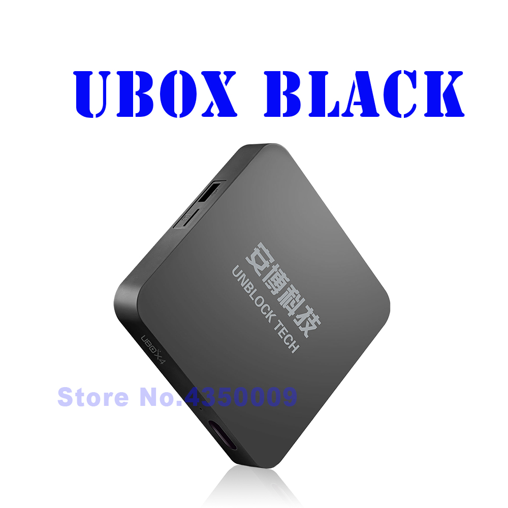 Unblock Tech UBOX4 Black ubox pro ubtv Android Free Tvbox IPTV Bluetooth HD 1080P 4K UBTV IPTV Smart TV iptv unblock ubox 3 standard 8gb smart android tv box