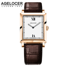 AGELOCER Luxury Brand Women Watches 2017 Fashion Creative Gold Ladies Quartz Watch Women Bracelet Wristwatches Relogio Feminino
