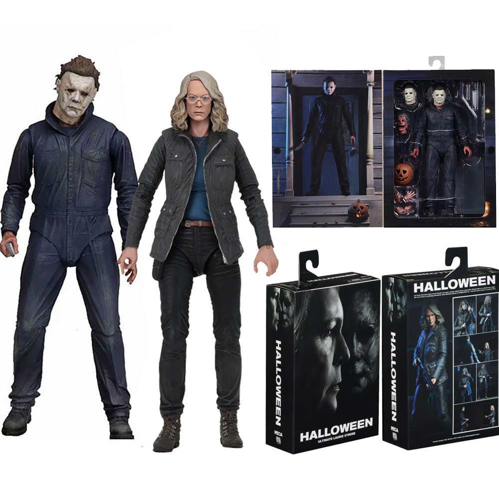 NECA - Michael Myers - Halloween - Laurie Strode - Michael Myers 1