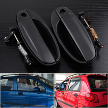 beler 2pcs Front Left Right Outside Outer Exterior Door Handles Fit For Chevrolet Aveo Aveo5 Pontiac G3 Car Styling 96541631