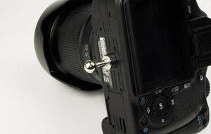 """Image 5 - חדש 1/4 """"בורג מצלמה שחרור מהירה נרתיק מותן אבזם חגורת לחץ הר קליפ מחזיק קולב רצועה לdslr Canon Nikon Sony"""
