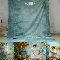 CustomTye Die Muslin wedding backdrops photography,cotton cloth photography backgrounds for photo studio christmas family F188
