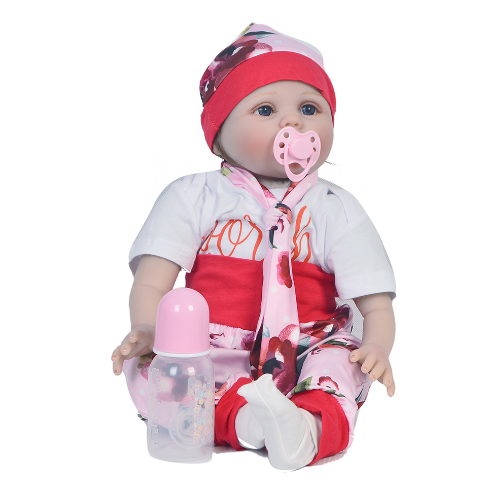 22inch Reborn Dolls Kids Toy Silicone white skin handmade 55cm fashion reborn Alive Doll  Hot bedtime play house toys doll22inch Reborn Dolls Kids Toy Silicone white skin handmade 55cm fashion reborn Alive Doll  Hot bedtime play house toys doll