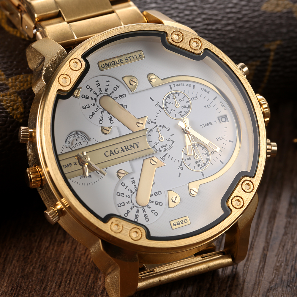 Luxury Brand Men Watches Montre Stainless Steel Quartz Watch Men Relogio Masculino Sports Military Male Clock Reloj Hombre splendid hcandice mens sports watches men s fashion mechanical stainless steel watch gold relogio masculino clock hombre