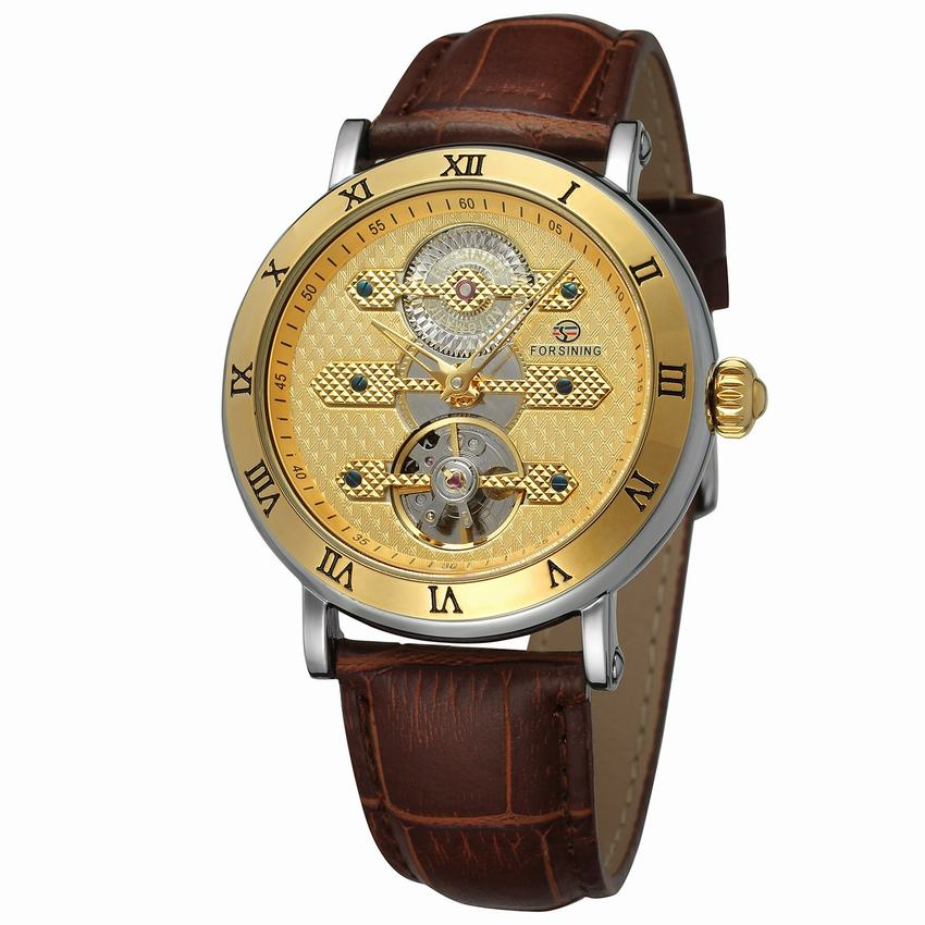 New Arrival Tourbillion Obscure Designer Waterproof Genuine Leather Mens Watch Mechanical Automatic Self Wind Watch Clock New цена