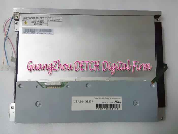 Industrial display LCD screen 10.4-inch LTA104D183F  LCD screen industrial display lcd screennl6448bc33 54 lcd screen