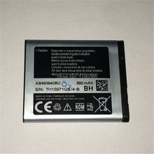 AB483640BU 880mAh Mobile phone battery For SL M608 B3210 C3050 E740 E748 F110 F118 F619 G618