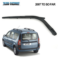 JunHong Rear Wiper Blade And Arm For DACIA  Logan MCV 2007 TO SO FAR Windscreen Rubber Car Accessories  Rear Window|Windscreen Wipers| |  -