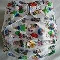 Детские подгузники, подгузники все в одном, размер l, многоразовые и бриллиантовые детские подгузники 200 компл./лот на Рождество