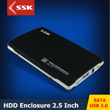 2016 NEW SSK SHE072 USB 3.0 HDD Enclosure 2.5 Inch SATA HDD CASE Serial port hard disk box External Hard disk HDD Enclosure
