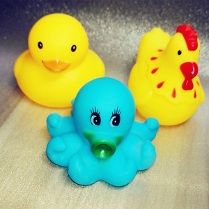 Image 3 - 13pcs/lot Baby Bath Toys Animal Rubber Duck Kids Bathroom Water Play Toy Floating Squeeze Sound Squeaky Bathing Toys