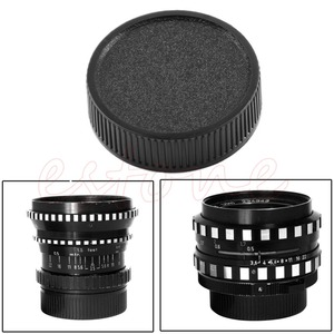 Image 2 - 6 pz/lotto Lens Posteriore Della Protezione Della Copertura Per M42 42 millimetri 42 Montaggio A Vite Nero