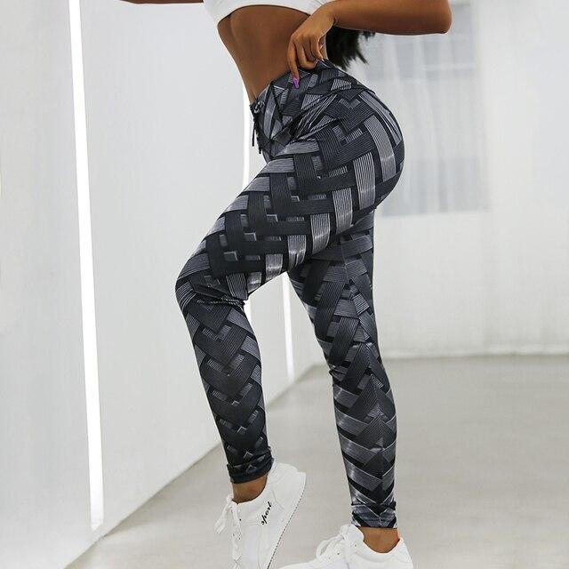 Women Leggings High Waist Leggings For Fitness Feminina Workout Jeggings 2