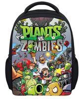 Hot Trẻ Em Trò Chơi Plants VS Zombies Ba Lô Học cho Trai và Quà Tặng Cô Gái Mới Thời Trang Trẻ Em Phim Hoạt Hình PVZ Túi Miễn Phí vận chuyển