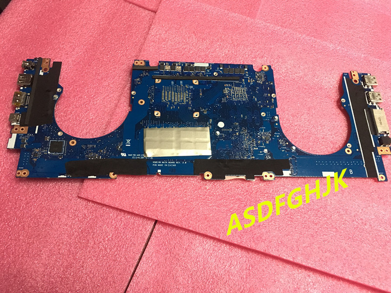 Купить с кэшбэком Main board For ASUS ZenBook Pro N501VW Laptop Motherboard WITH i7-6700HQ CPU GTX960M  100% TESED OK